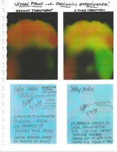 Scan 1 - aura